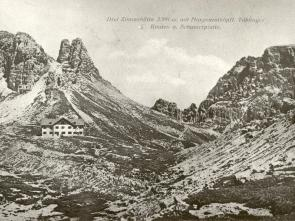History - Mountain hut Antonio Locatelli